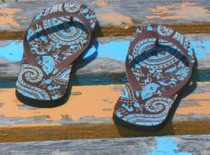 boty do vody a k moři
