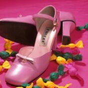 Růžové boty