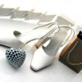 Svatební boty pro nevěstu