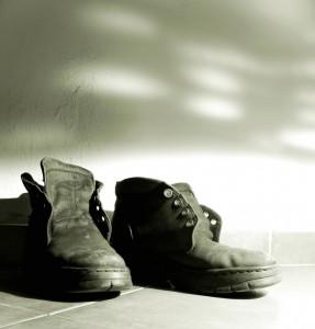 těžké boty